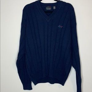 NWT Greg Norman collection blue sweater size M